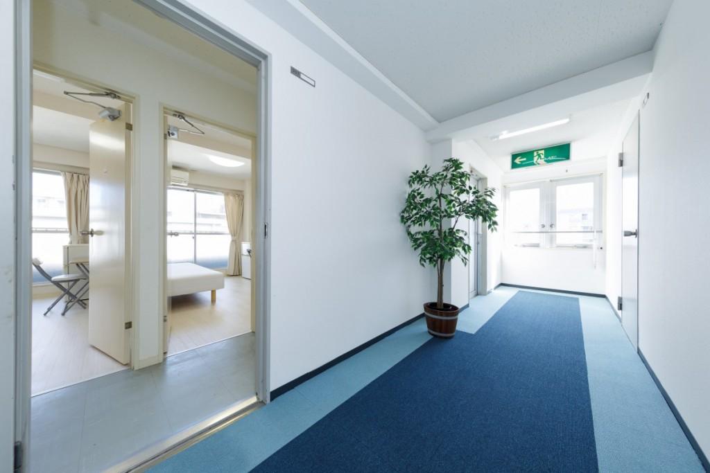 前部屋・廊下